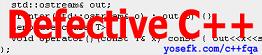 [Defective C++]