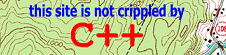 [This site is not crippled by C++]